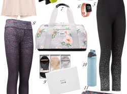 Holiday Gift Guide For The Fitness Love. Fitness Gift Ideas.