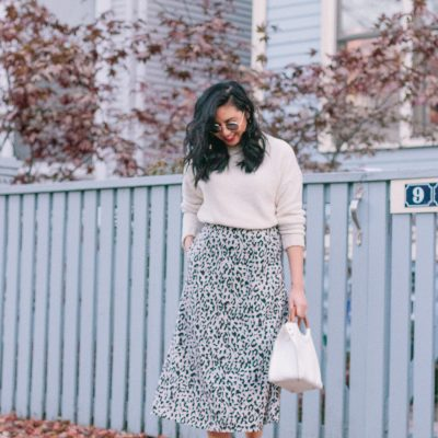 I Finally Own A Leopard Print Skirt & Nordstrom GIVEAWAY