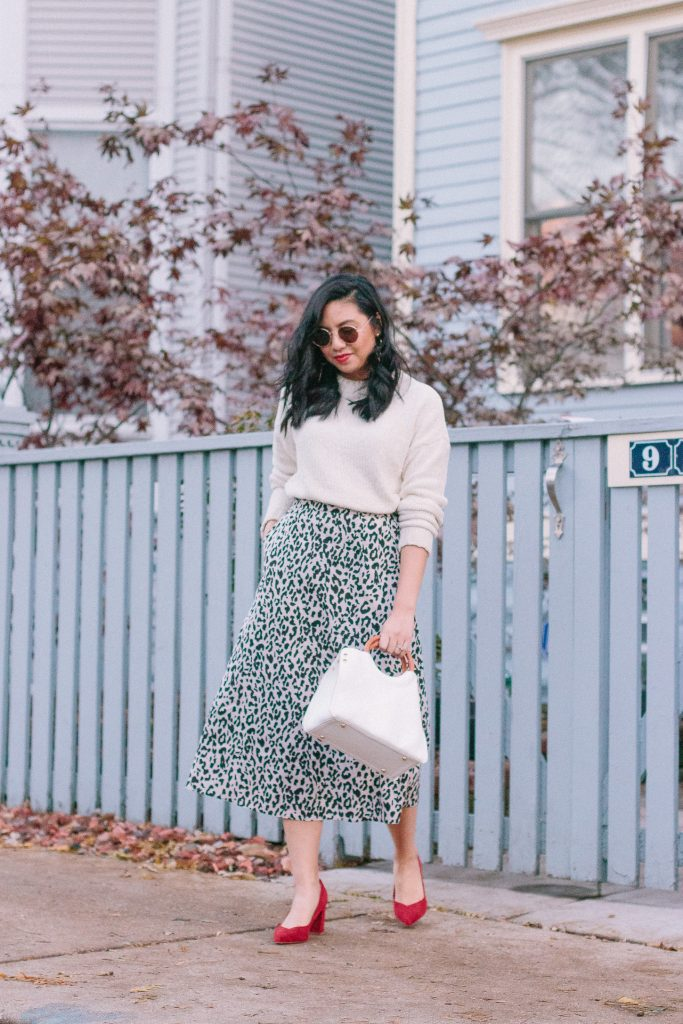 How to Style a Leopard Print Skirt.