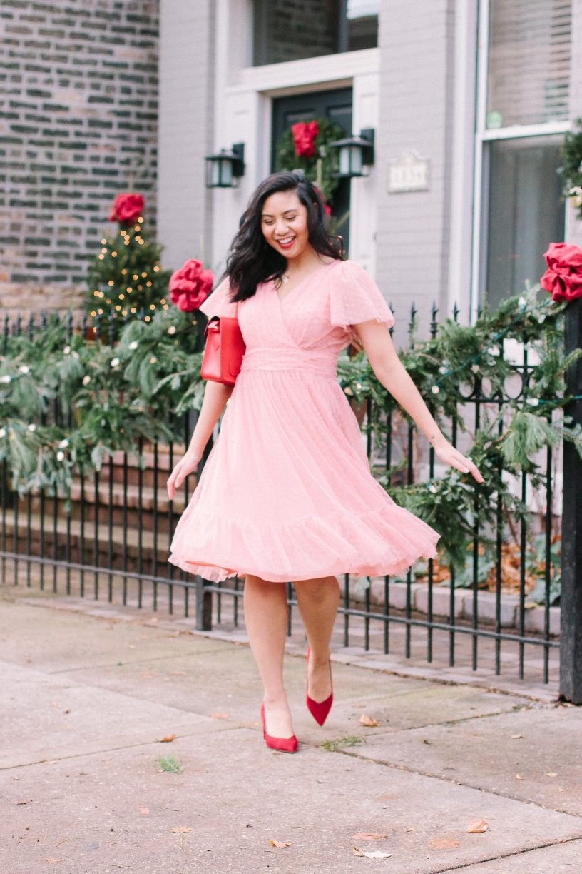 The Most Darling Holiday Dress For The Girly Girl