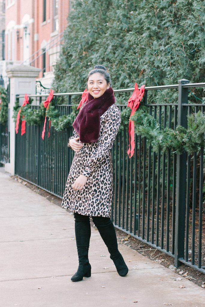 Tips To Wear A Leopard Print Dress For The Holidays