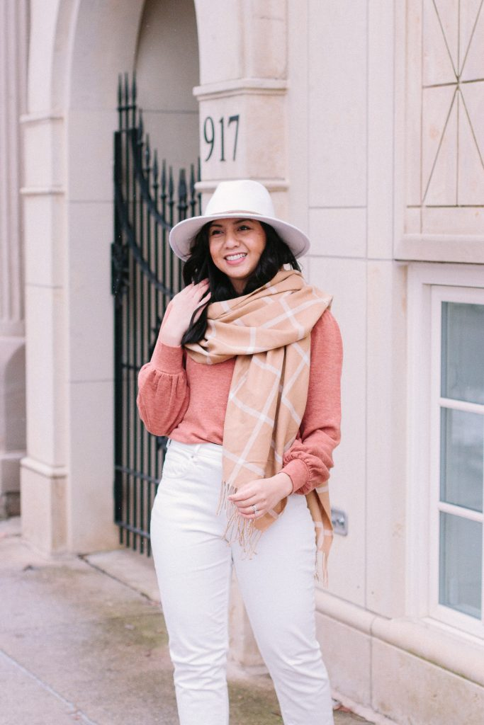 Go-To Accessories to Elevate Winter Outfits are rancher hats and oversized s