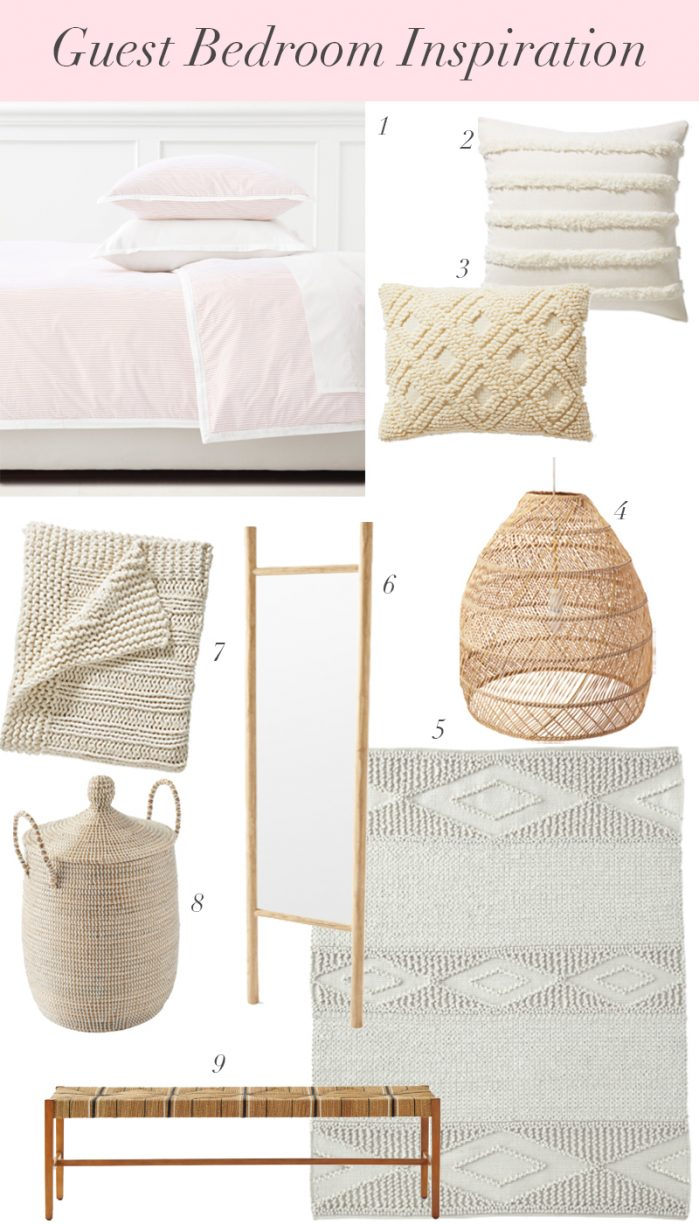 Dreaming Of Guest Bedroom Decor Ideas + Nordstrom Giveaway