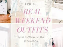 Real Weekend Outfits. What to wear on the weekends.