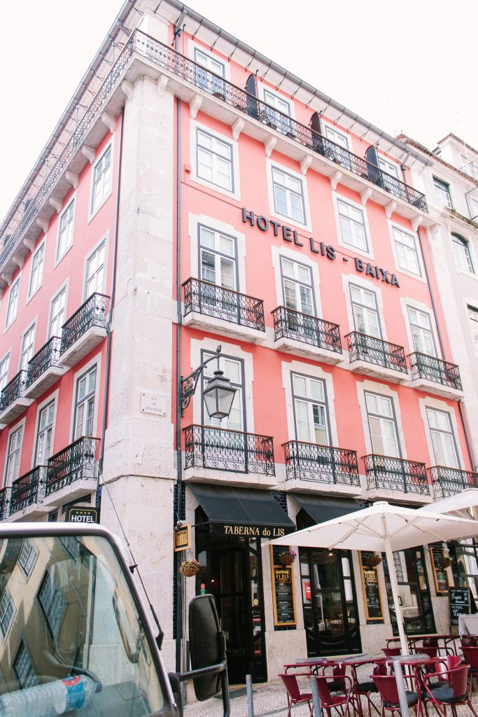 Travel Guide to Lisbon - Hotel Lis Baixa