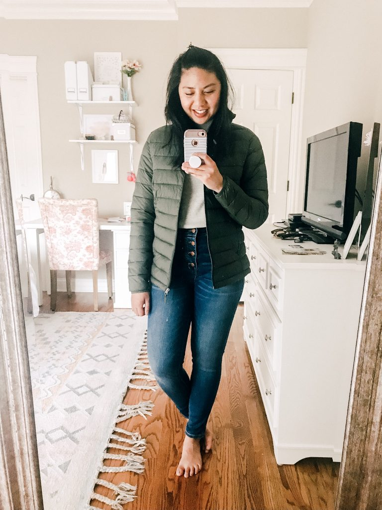 Amazon Sweaters Under $35. An affordable Puffer Jacket.