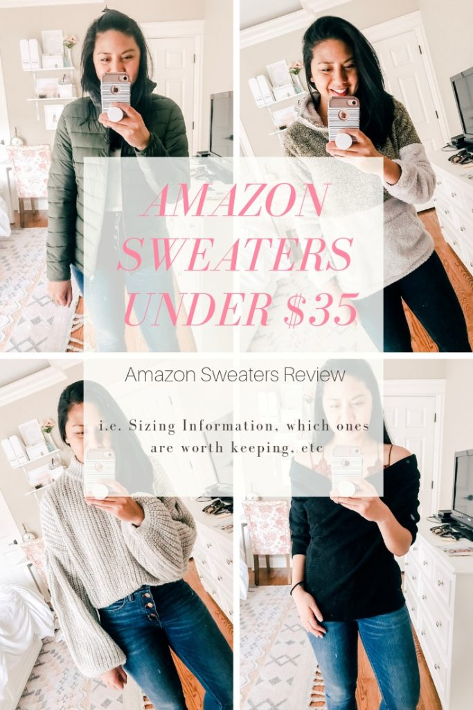 Amazon Sweaters Under $35. Review of Amazon Sweaters.