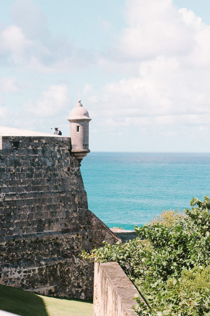 El Morro is the most famous fortress in Puerto Ric