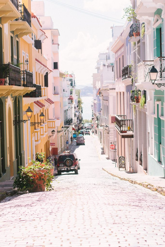 Old San Juan has so much charm and it is so cute.