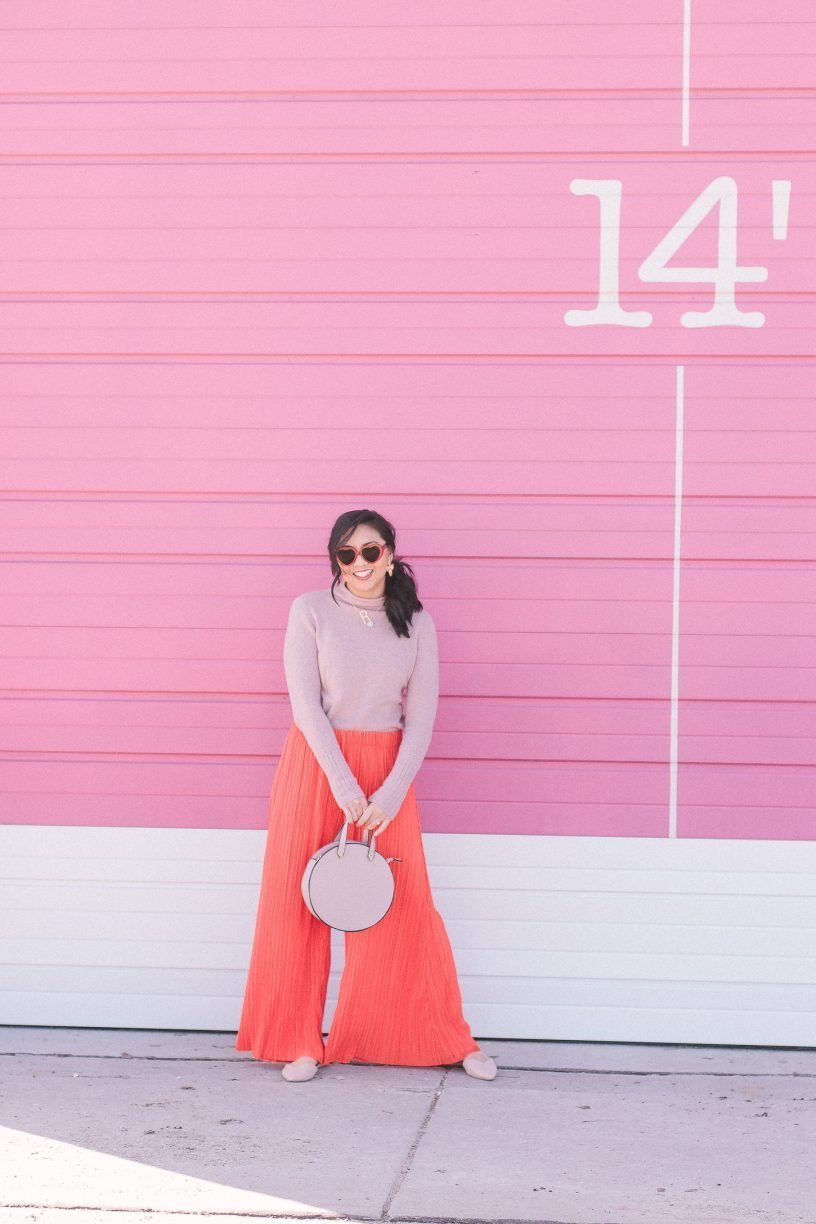 A Spring Transitional Outfit or Valentine's Day Outfit?
