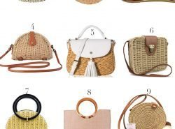 12 Affordable Straw Bags. The Cutest Straw Bags.