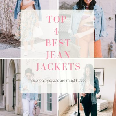 My Top 4 Best Jean Jackets + Nordstrom Giveaway