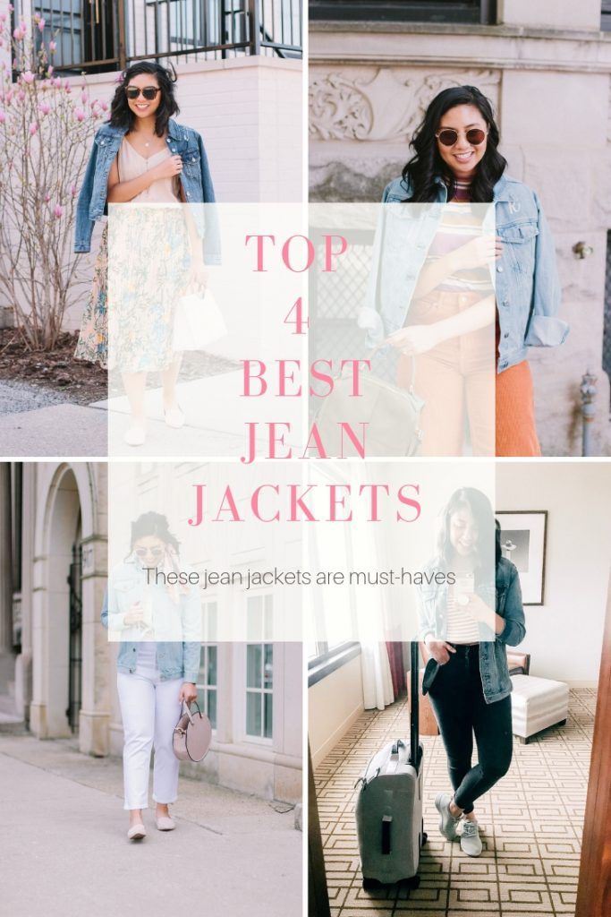 The Top 4 Best Jean Jackets. Must-have jacket for Spring.