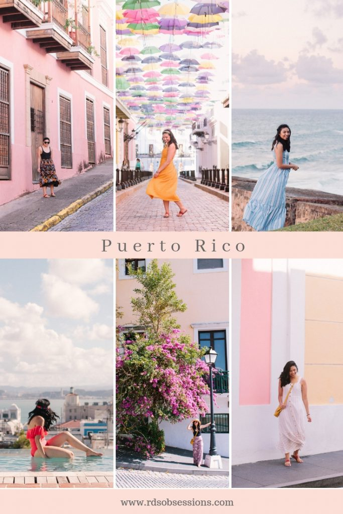 What I Wore in Puerto Rico - Spring Style Ideas