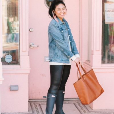 Start Your Spring Wardrobe With Hunter Rain Boots + Hunter Boots Giveaway