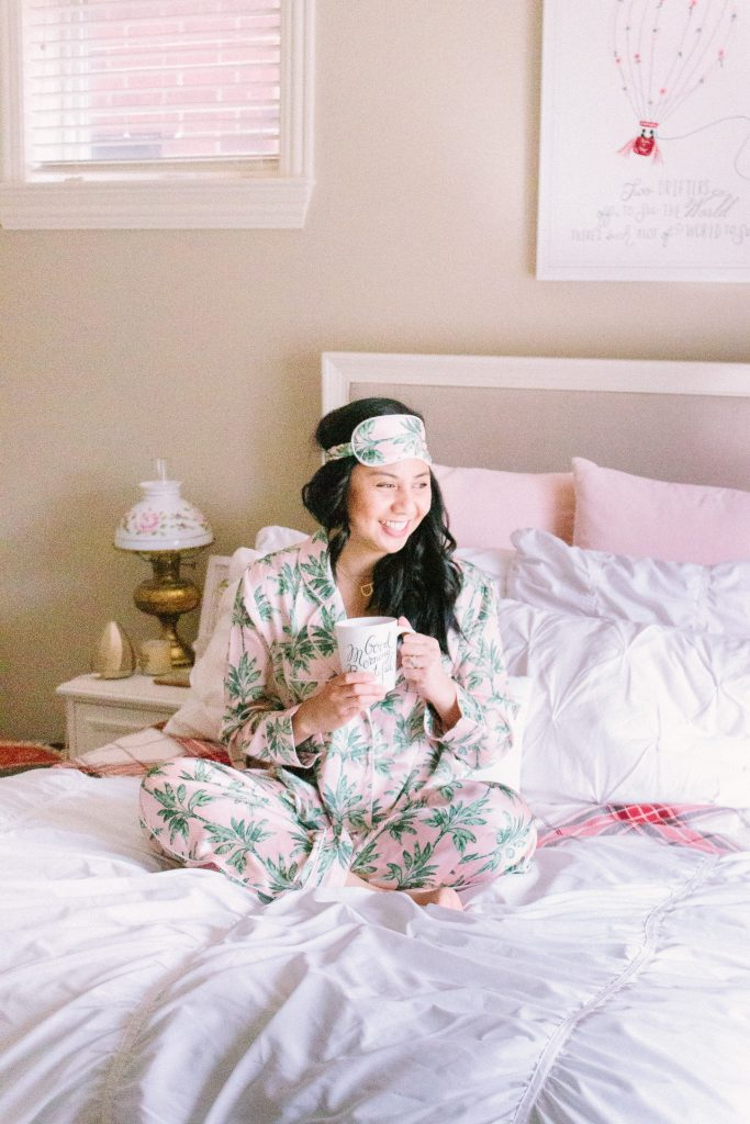 Palm Print Pajamas: c/o Show Me Your Mumu