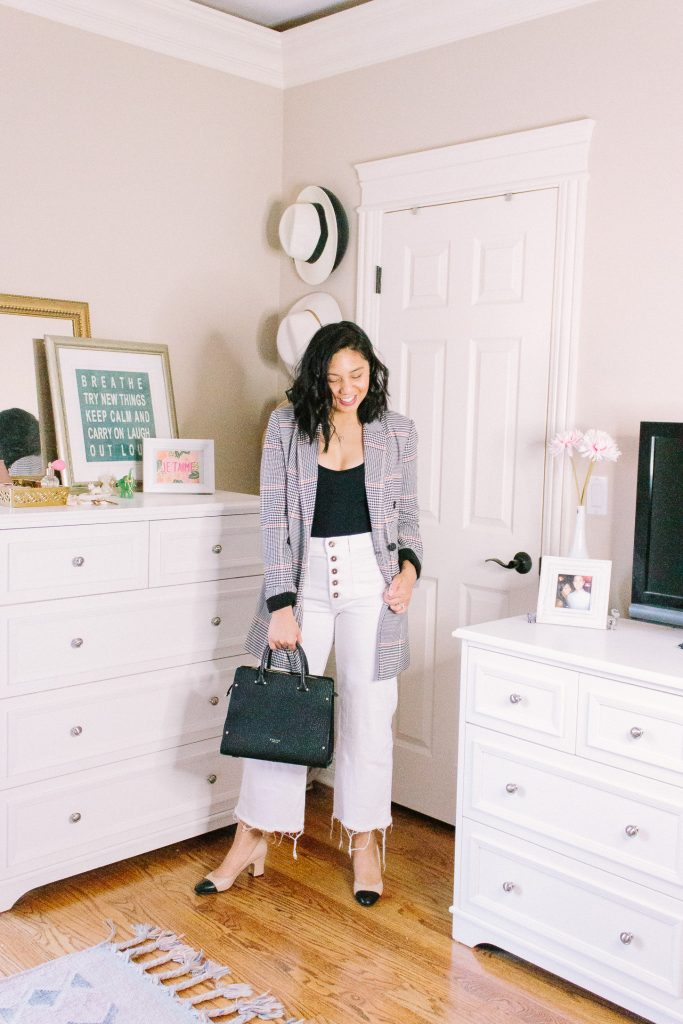 6 Ways To Style A Crop White Wide Leg Pants. How to wear crop white wide leg pant