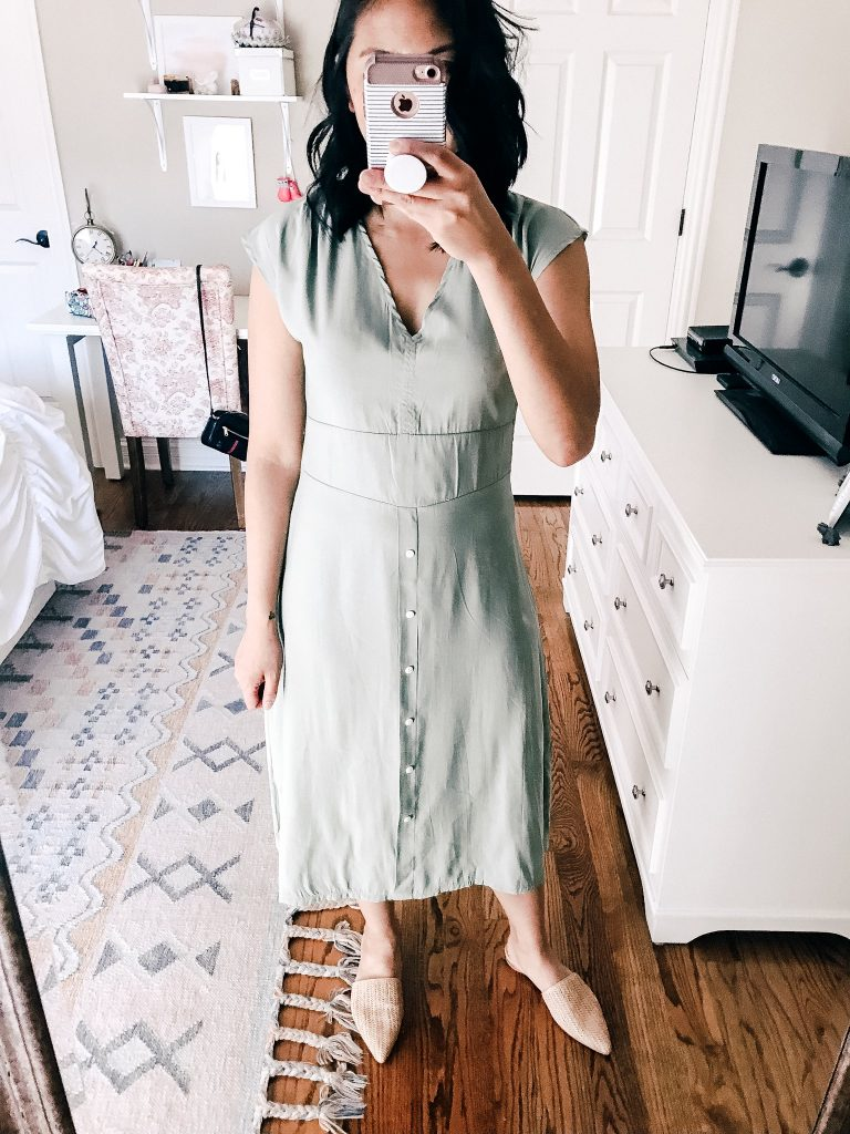 Sleeveless Swing Midi Dress - Amazon Dresses Under $20