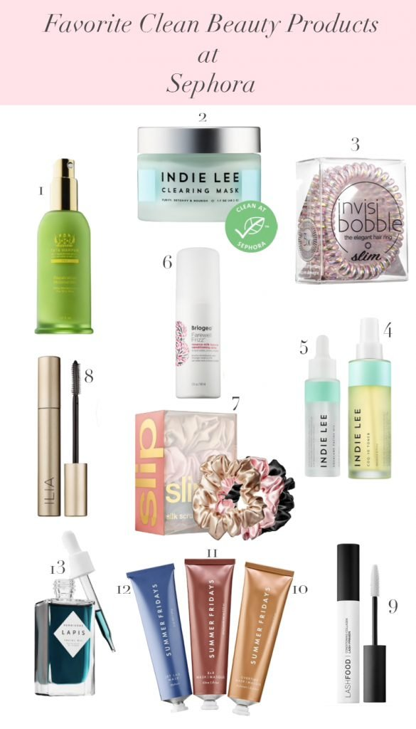 Sephora Beauty Insider Spring Bonus Event - Favorite Clean Beauty Products at Sephora