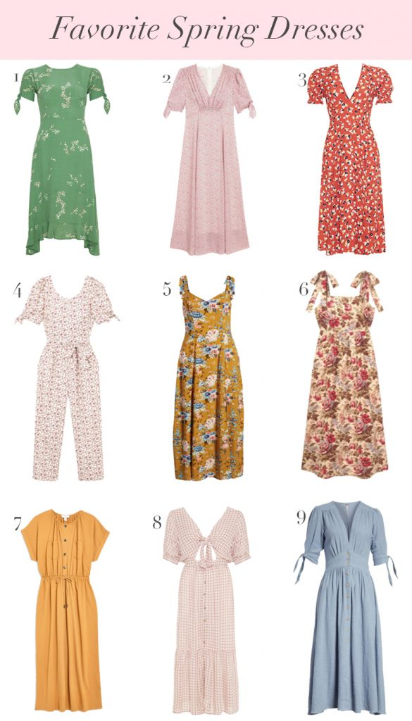 9 Spring Dresses I'm Loving So Far