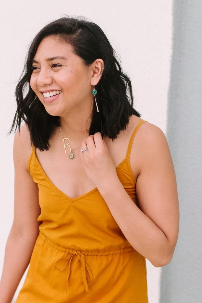 Revive Jewelry - Jewelry Supporting Breast Cancer Research. Mustard Yellow Dress