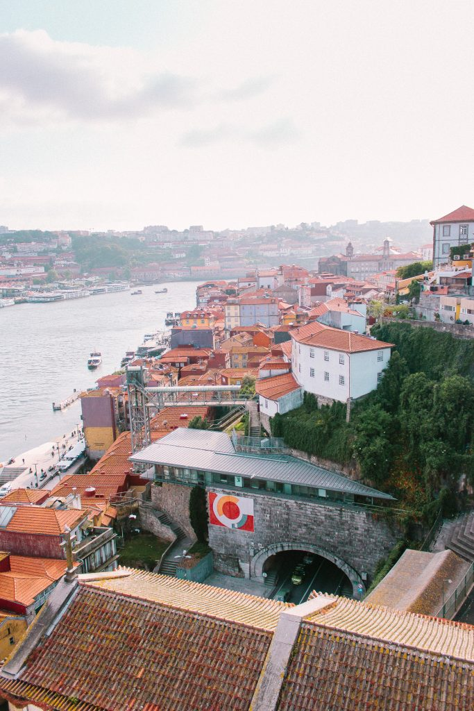 Cals da Ribeira - this is what they call the river waterfront.