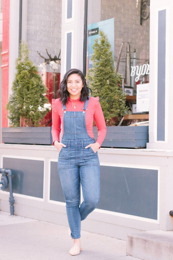 The Most Flattering Denim Overalls - Madewell Overalls