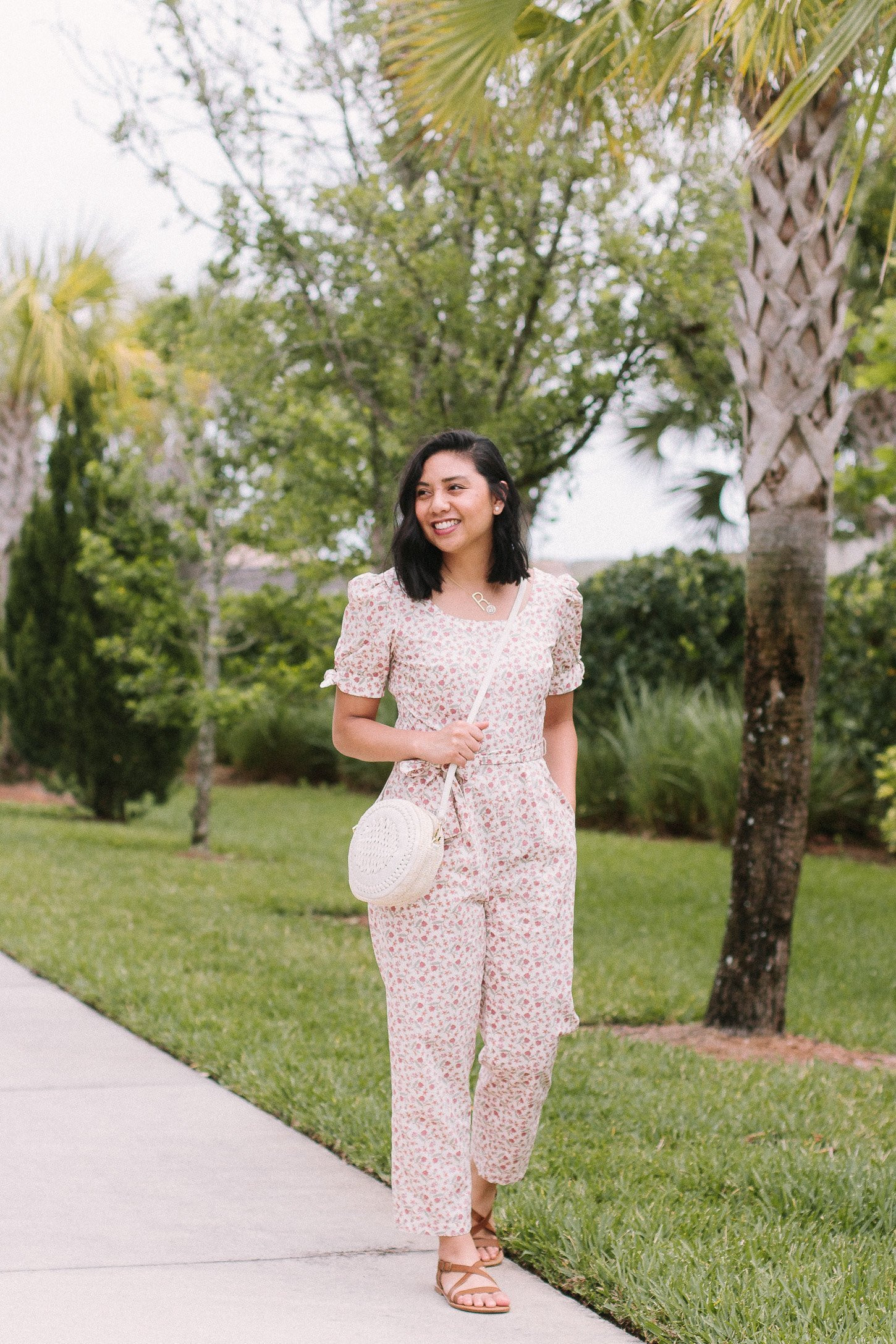 b2b68f7d7feb The Floral Print Jumpsuit That You Need This Spring. Gal Meets Glam  Jumpsuits. Best