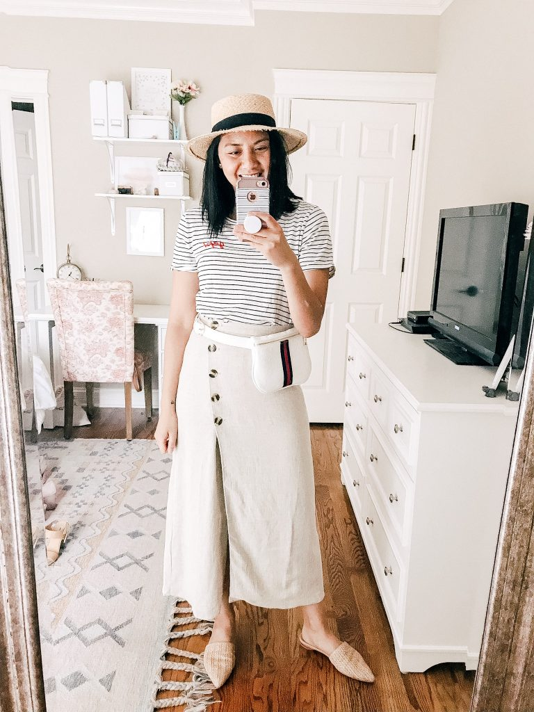 6 Ways To Style A High Waisted Midi Skirt For The Summer.