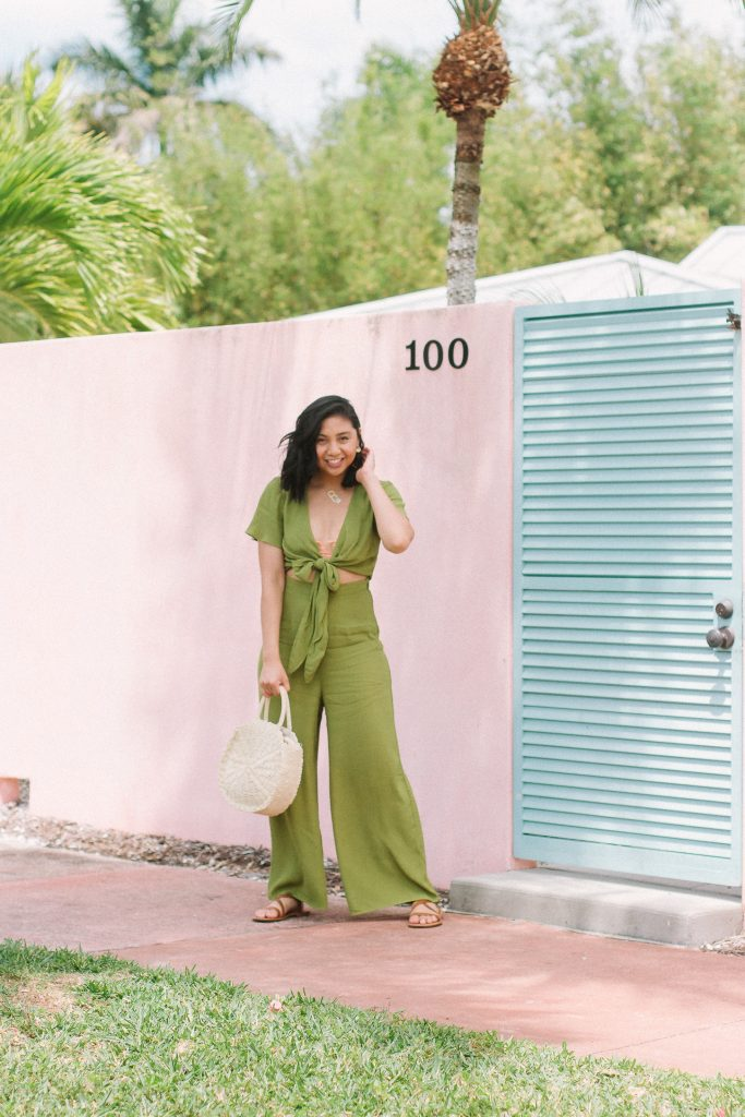 A Must-Have Tropical Getaway Outfit - Show Me Your Mumu Jumpsuit