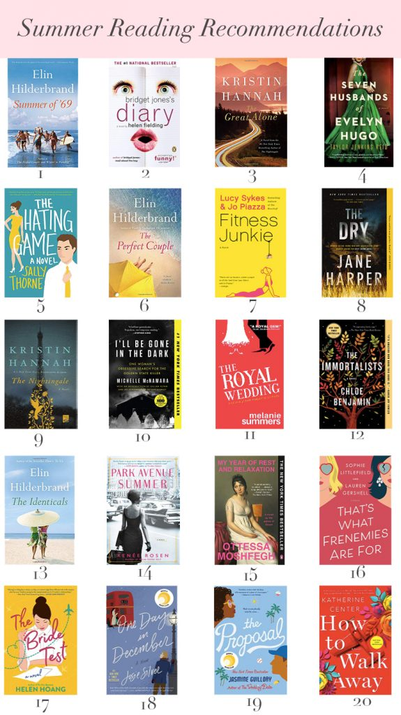 Book Recommendations For Summer Reading