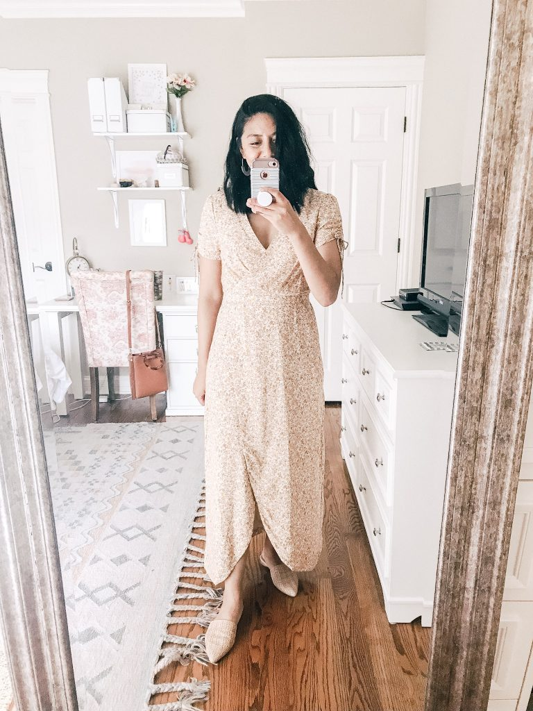 Madewell Floral Maxi Dress