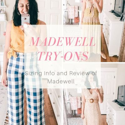 Madewell Summer Collection Try-On & Review
