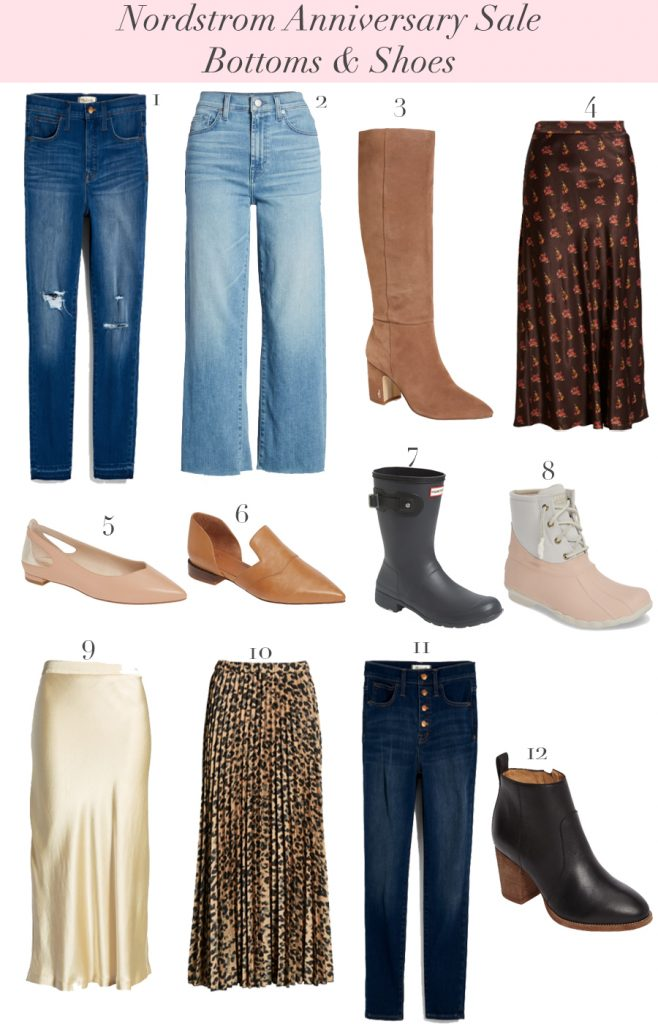 2019 Nordstrom Anniversary Jeans And Shoes