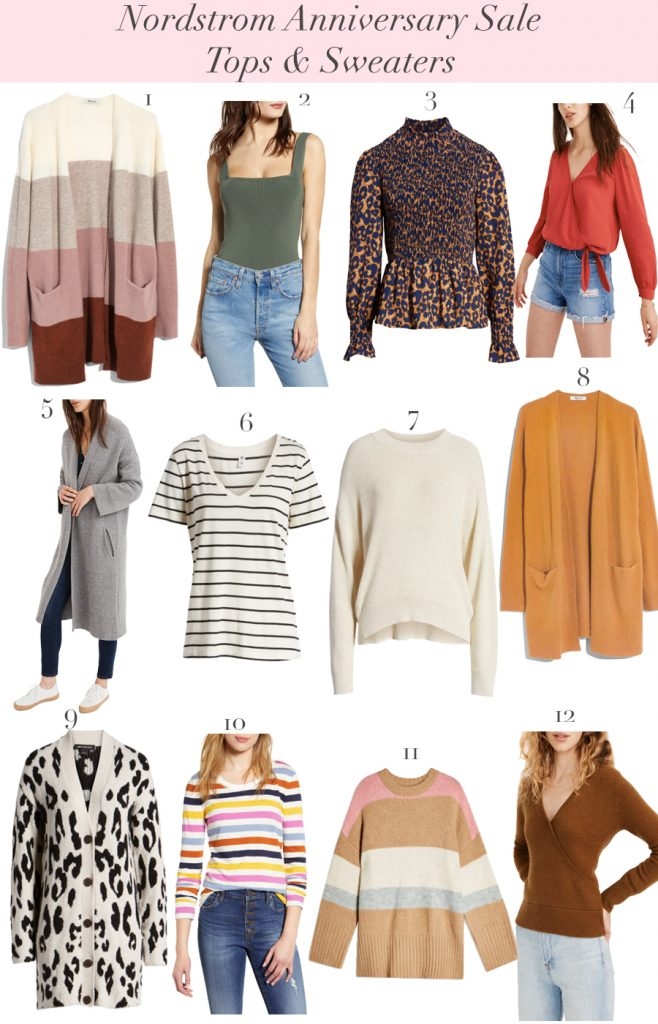 Nordstrom Anniversary Sale - Sweaters and Tops