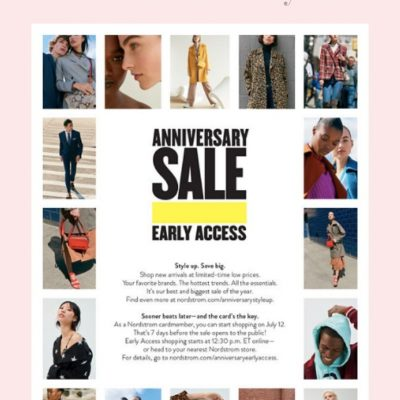Nordstrom Anniversary Sale 2019: Everything You Need to Know + Giveaway
