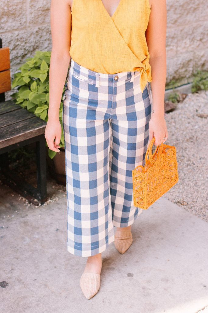 The Best Gingham Pants.