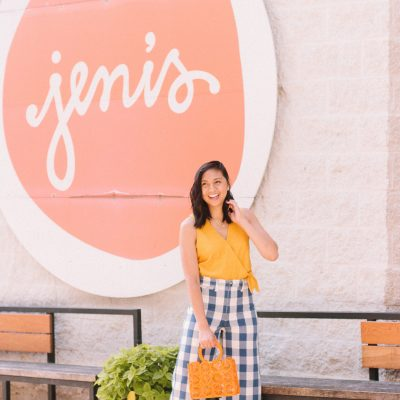 The Most Talked About Gingham Pants
