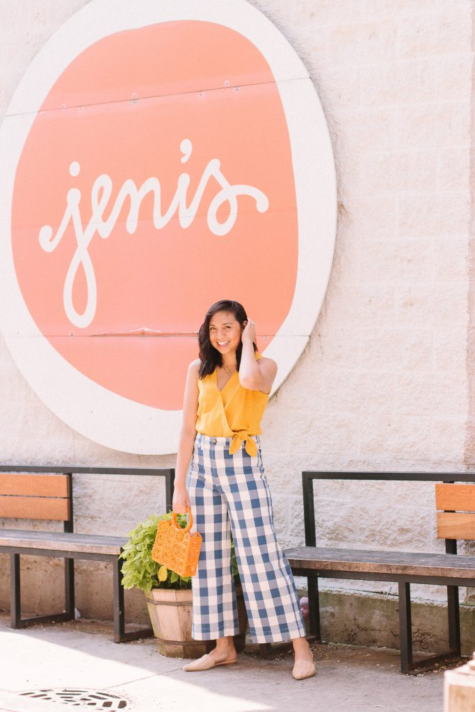 The cutest Gingham Pants.