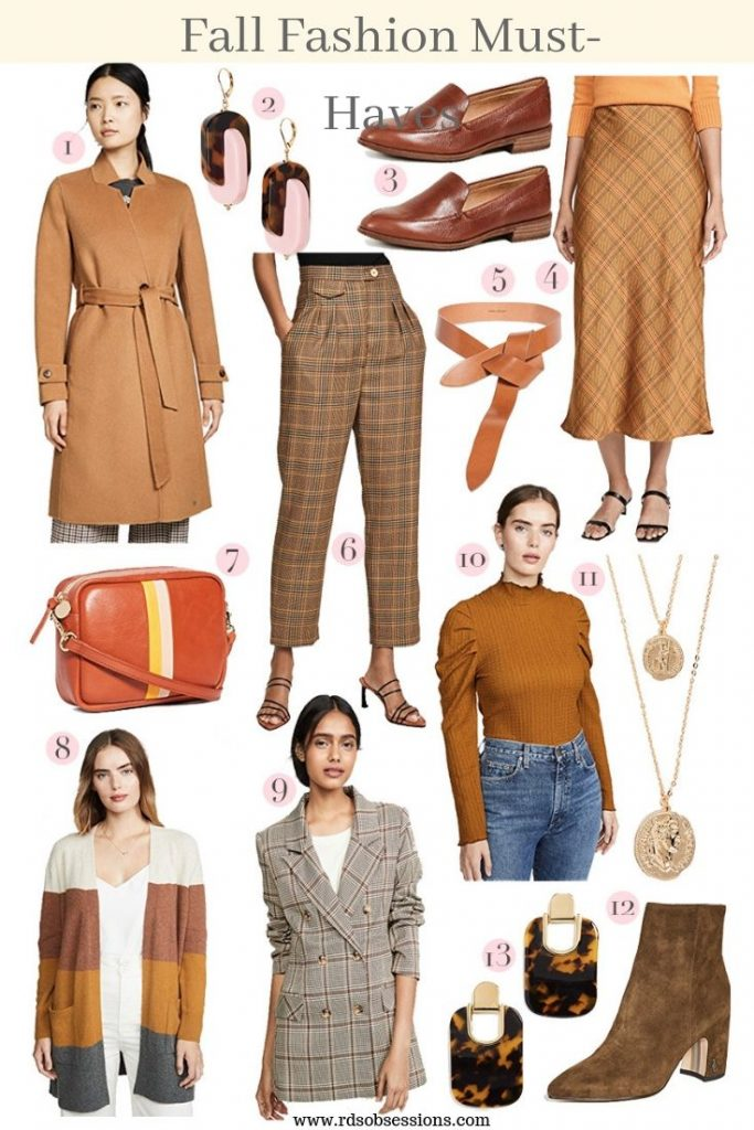 fall fashion 2019 musthaves warm tones  amazon gift