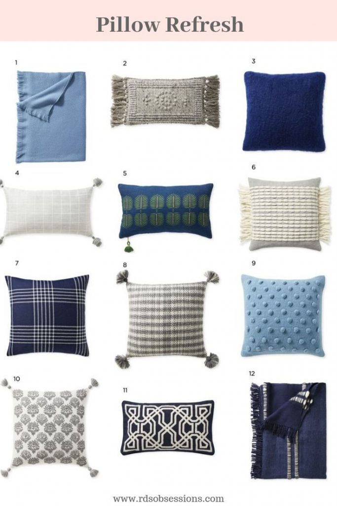 What To Buy From The Serena & Lily Friends & Family Sale - Cute Pillows & Throws For The Home