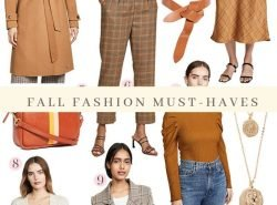 Warm Tones: Fall Fashion Must-Haves 2019