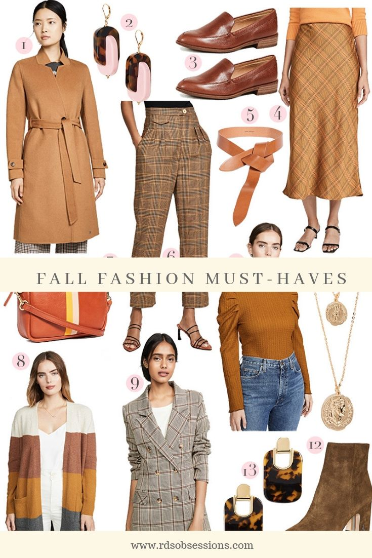 Fall Fashion 2019 Must-Haves: Warm Tones + Amazon Gift Card Giveaway