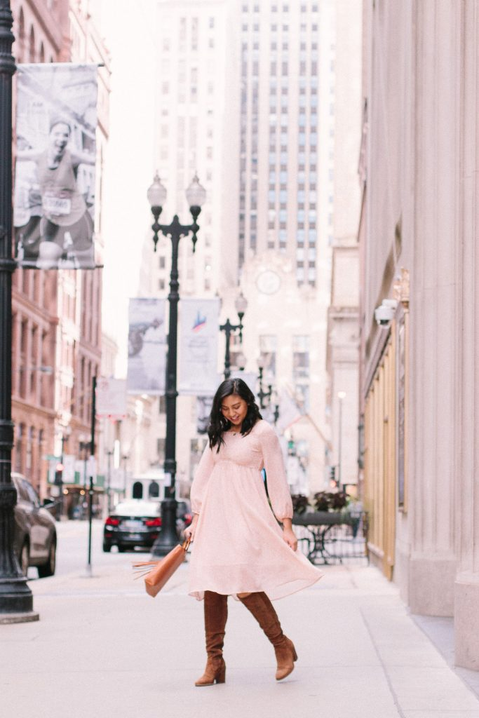 How to wear summer dresses in Fall