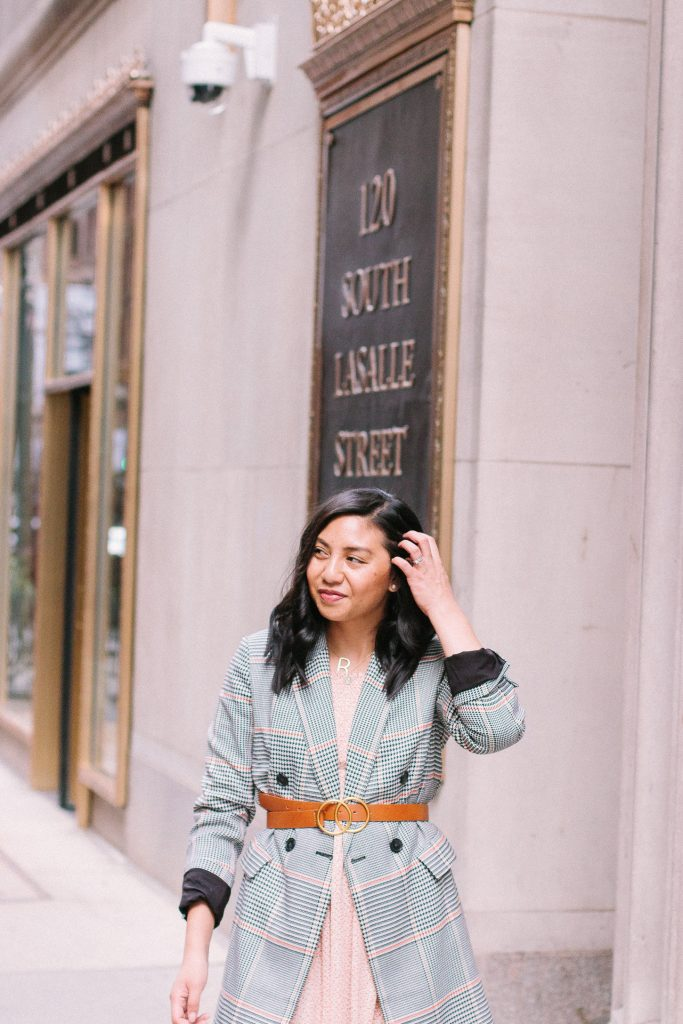 How to style a belt for Fall