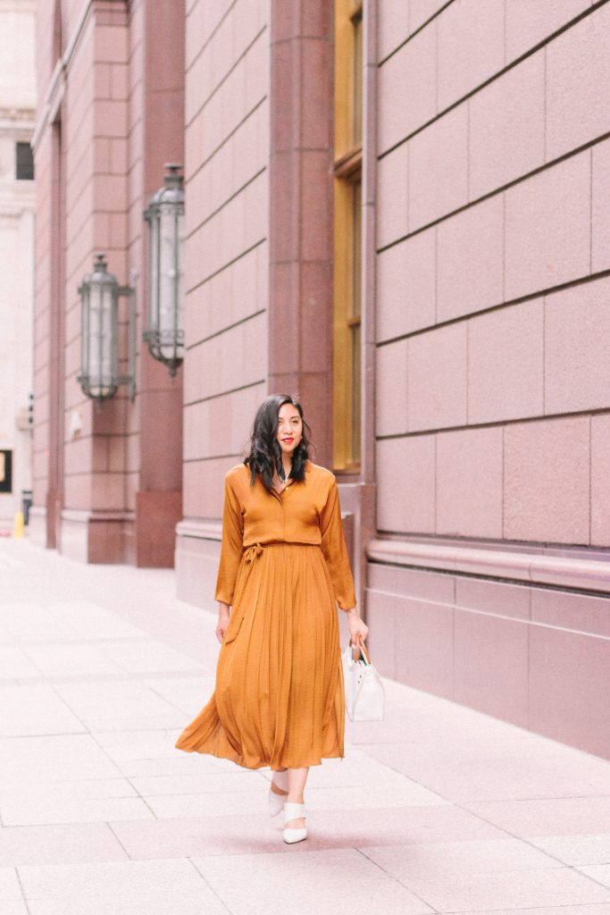 Shirtdress for fall