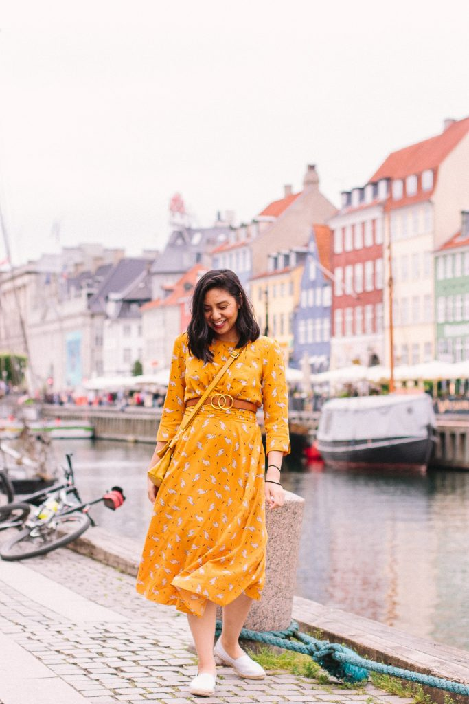 Anthropologie Discount Hack yellow dresses for Fall