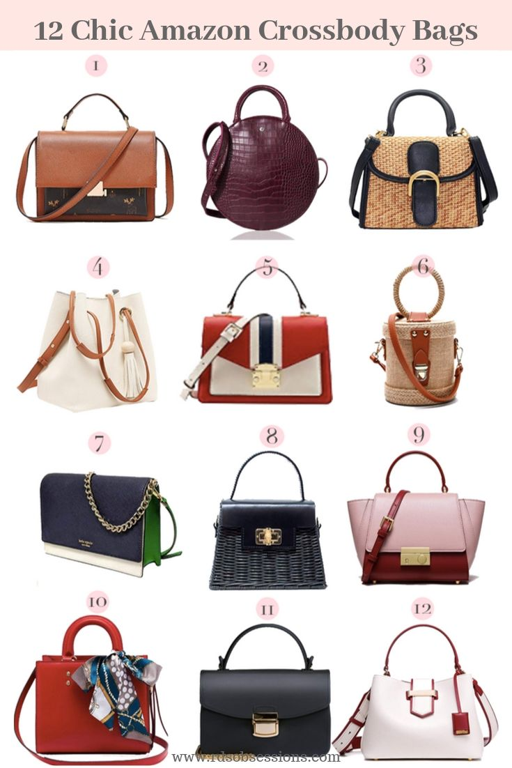 12 Chic Amazon Crossbody Bags + HomeGoods Giveaway
