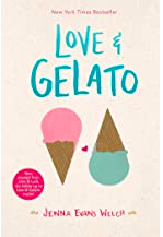 Love & Gelato by Jenna Evans Welch. Book that takes place in Italy.