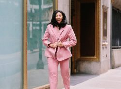 Pink Power Suit & The Butterfly Necklace Gives Back to Breast Cancer Research